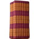 Masérský Futon skládací Comfort z Thajska 120x190cm - různé barvy