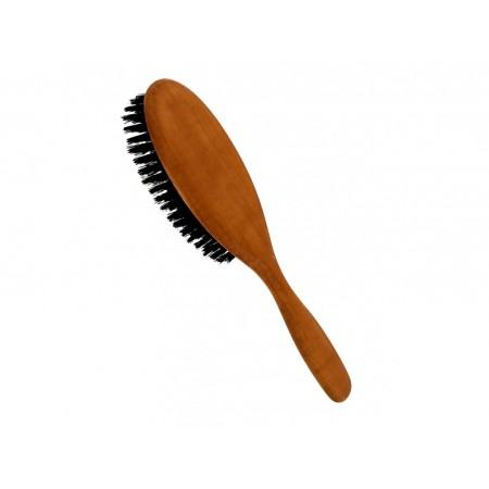 Förster´s vlasový kartáč z hruškového dřeva - s kančími štětinami malý