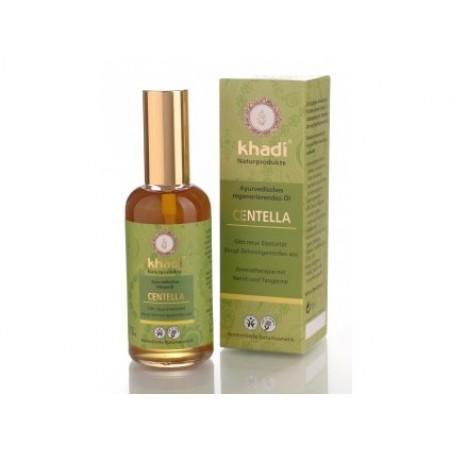 Khadi pleťový a tělový olej CENTELLA - REGENERAČNÍ 100ML