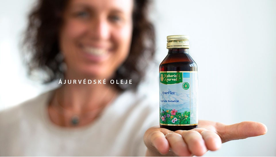 Ajurvédské oleje