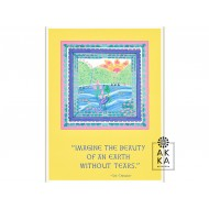 Velký meditativní obraz Představ si krásu…, Sri Chinmoy