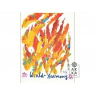 Velký meditativní obraz Světová harmonie 1, Sri Chinmoy
