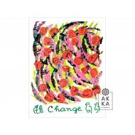 Velký meditativní obraz Změna, Sri Chinmoy