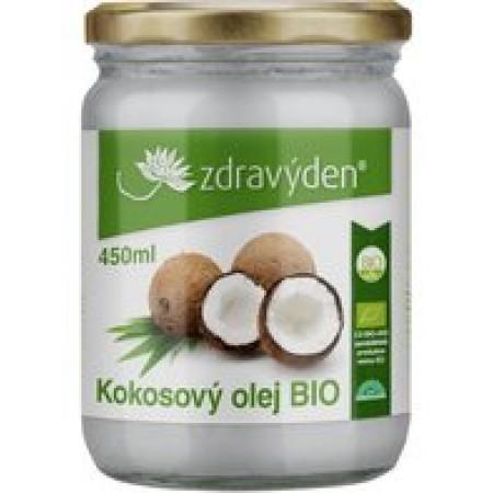 Zdravý den Kokosový olej panenský Bio 450ml