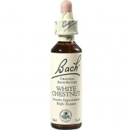 Bachovy esence WHITE CHESTNUT č.35, 20 ml, Bílý kaštan, NECHTĚNÉ MYŠLENKY, SAMOMLUVA