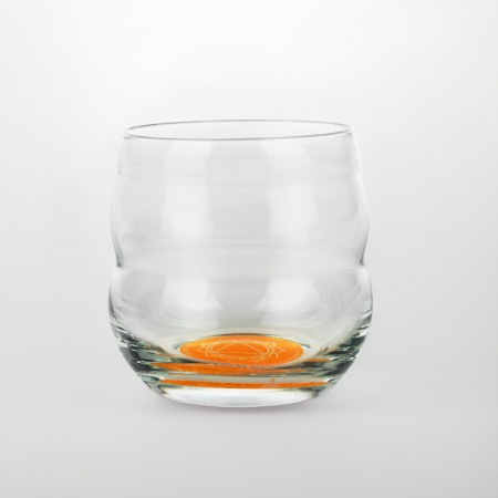 Natures Design Čakrová sklenice s afirmací Odvaha