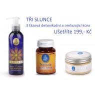 TŘI SLUNCE - ájurvédská 3-fázová detoxikační a omlazující kúra s Triphala, Heart-Sun olej a peeling od Service-Plants