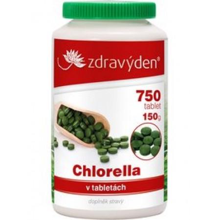 Zdravý den Chlorella 750 tablet, 150g