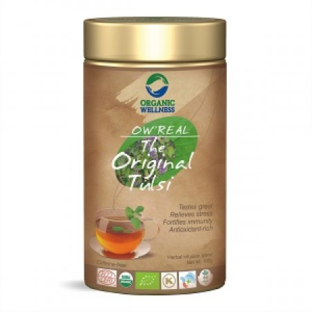 BIO TULSI ORIGINAL - bylinný čaj bez kofeinu 100g
