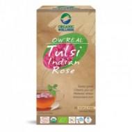 BIO TULSI INDICKÁ RŮŽE - bylinný čaj bez kofeinu