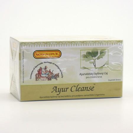 Siddhalepa Ayur Cleanse, čaj pro čištění krve 20 sáčků, 40 g