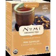Numi čaj bio směs Mini Sampler, 8 sáčků