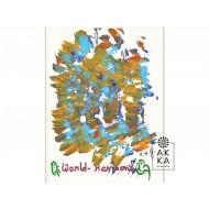 Velký meditativní obraz Světová harmonie 4, Sri Chinmoy