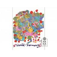 Velký meditativní obraz Světová harmonie 5, Sri Chinmoy