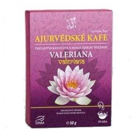 Ájurvédská káva VALERIANA, pro uvolnění mysli a klidný spánek, 50g