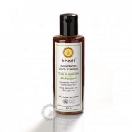 Khadi sprchový gel TULSI & JAMROSA 210ml