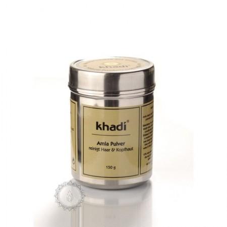 Khadi PRÁŠEK ZE SMĚSI BYLIN - ajurvédský šampón a intenzivní péče 150 g
