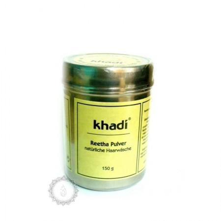 Khadi prášek REETHA – jemný ŠAMPÓN z mýdlových ořechů 105g