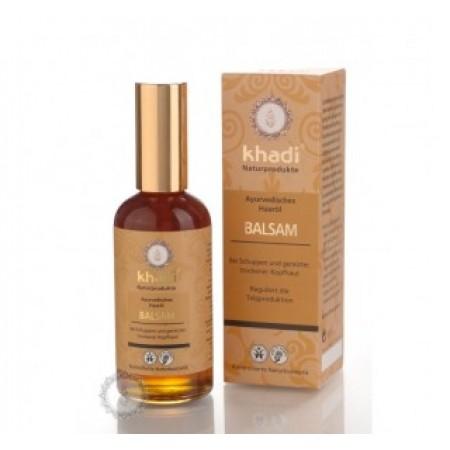 Khadi vlasový olej BALZÁM proti lupům 100ml