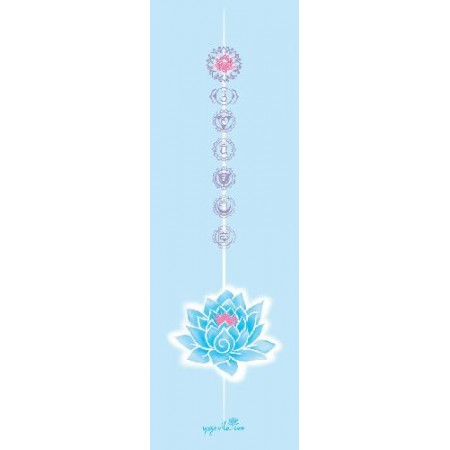 Yogavila Podložka na jógu LOTOS modrá